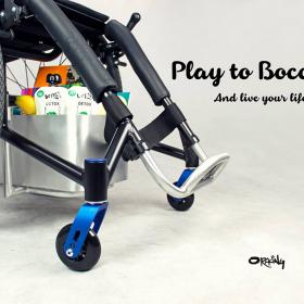 Oracing-XTR_Tagesrollstuhl_Boccia Sport_Handfertigung_Rollstuhleinkaufskorb